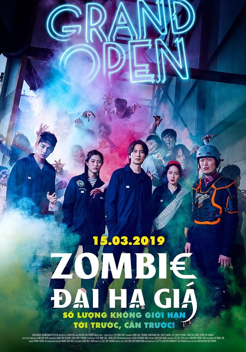 Poster phim Zombie Đại Hạ Giá