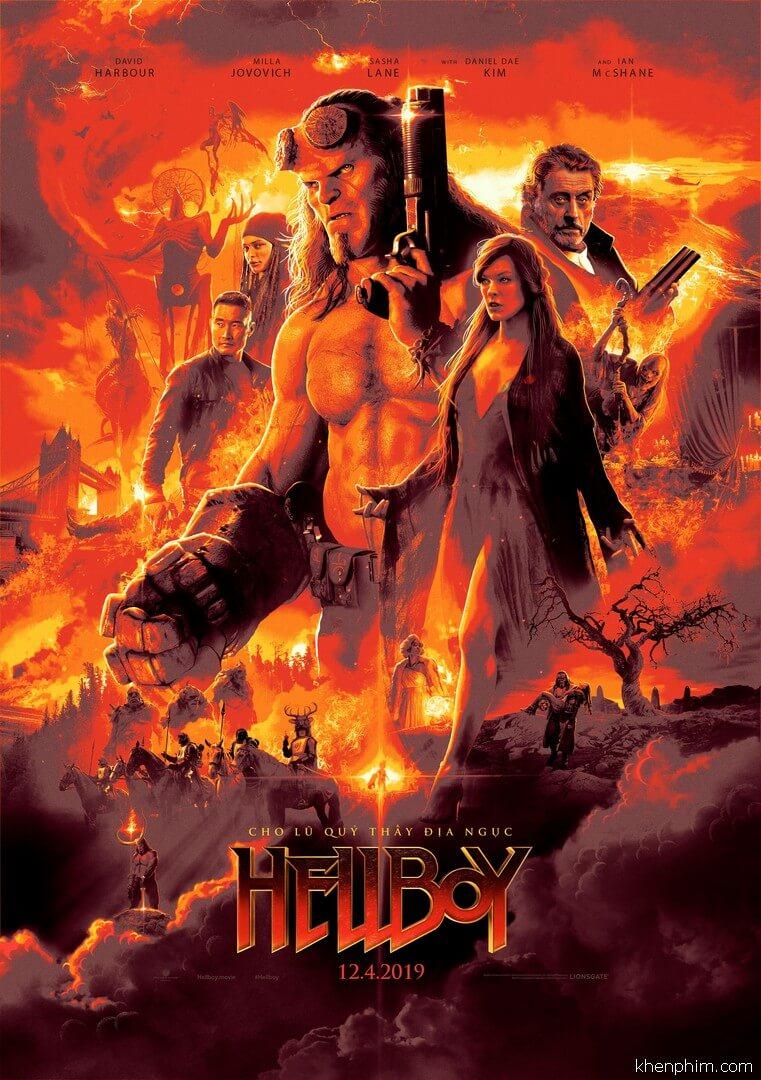Poster phim Hellboy