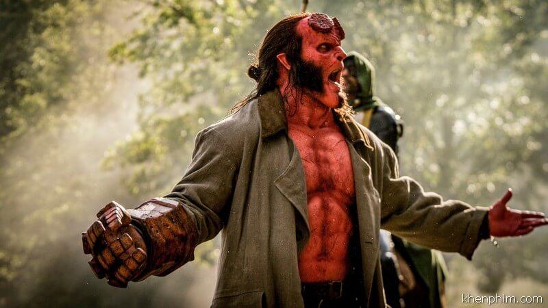 Tạo hình Hellboy