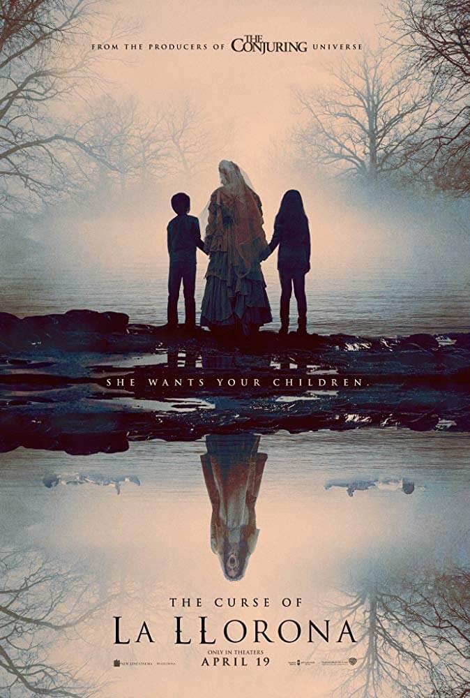 Poster đen tối của phim Mẹ Ma Than Khóc La Llorona