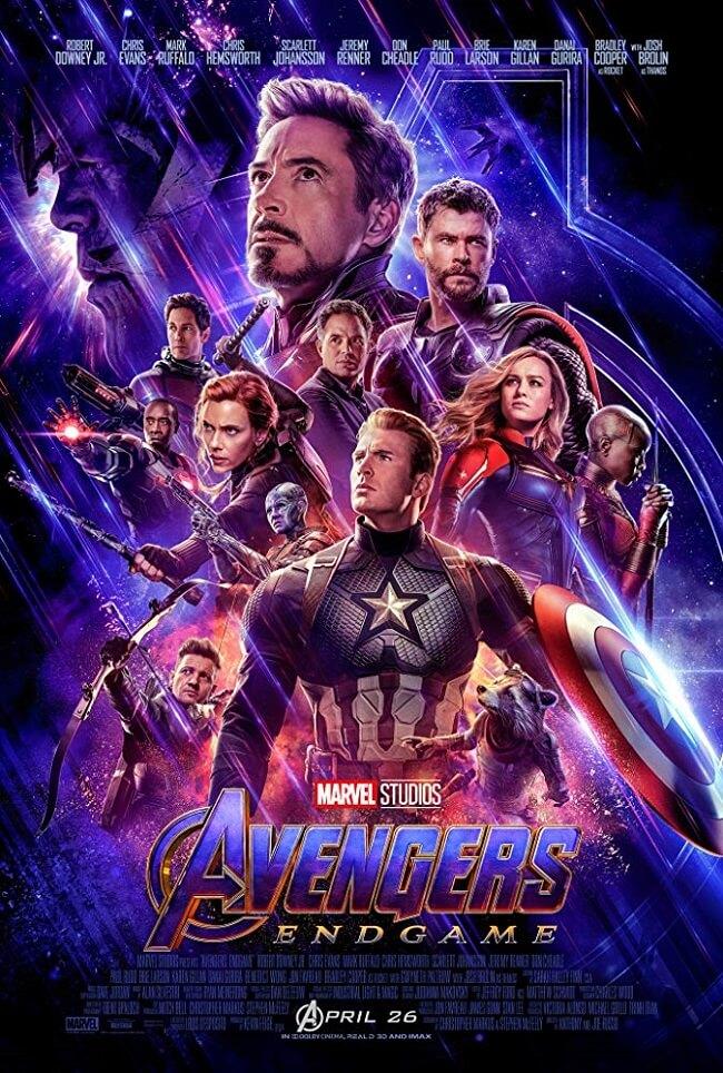 Poster phim Avengers: Endgame