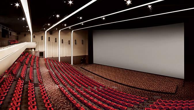 Tổng quan phòng chiếu Superplex. Ảnh: Lotte Cinema