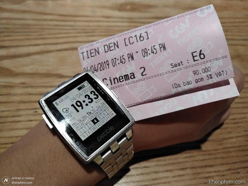 Vé xem phim Tiền Đen