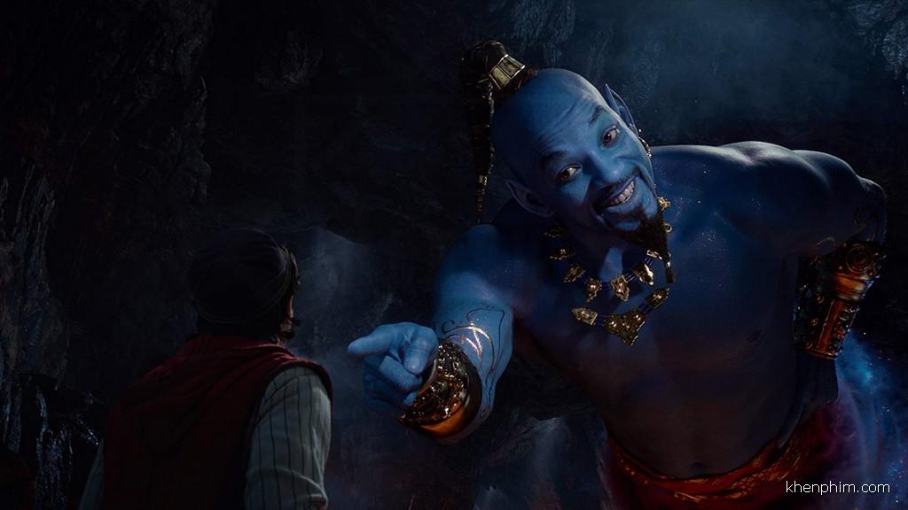 Tạo hình thần đèn trong phim Aladdin