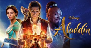Banner đầu bài phim Aladdin