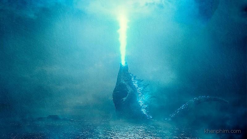 Godzilla sau khi được nạp sức mạnh