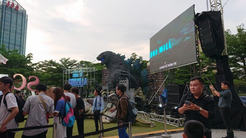 Họp báo phim Godzilla
