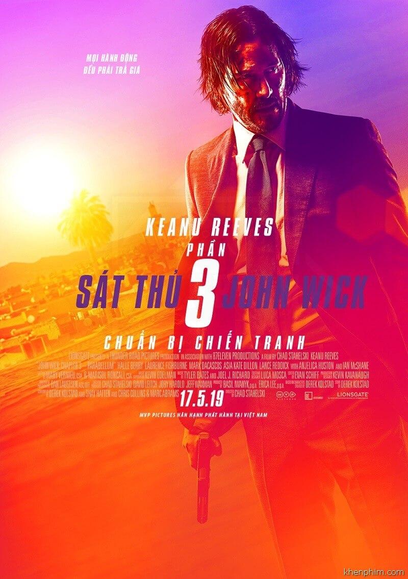 Poster phim John Wick 3