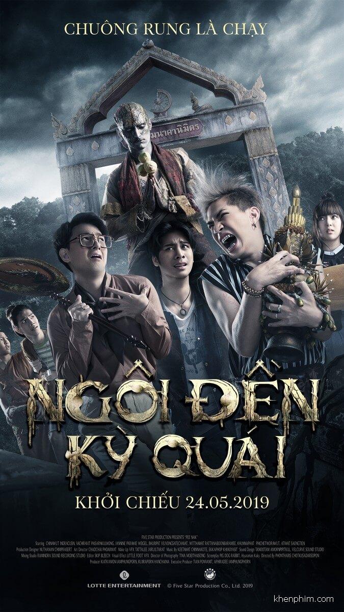 Poster phim Ngôi Đền Kỳ Quái