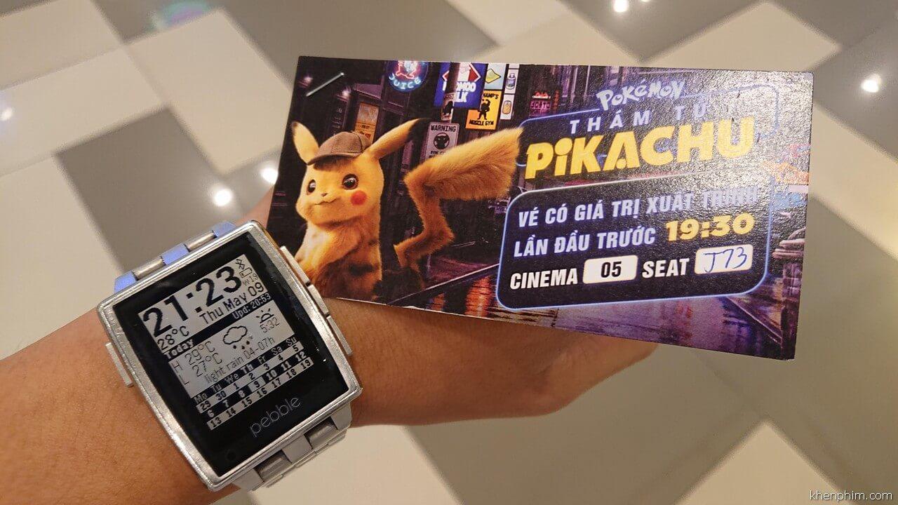 Vé xem phim Pokémon: Thám Tử Pikachu