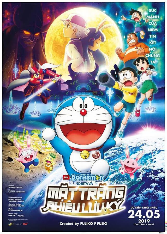 Doraemon: Nobita và Mặt Trăng Phiêu Lưu Ký poster