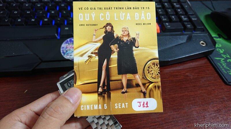 Vé xem phim Quý Cô Lừa Đảo (The Hustle)