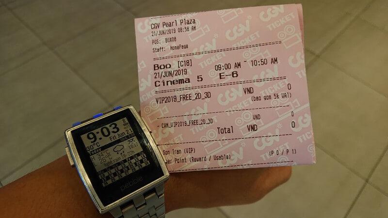 Vé xem phim Hù!