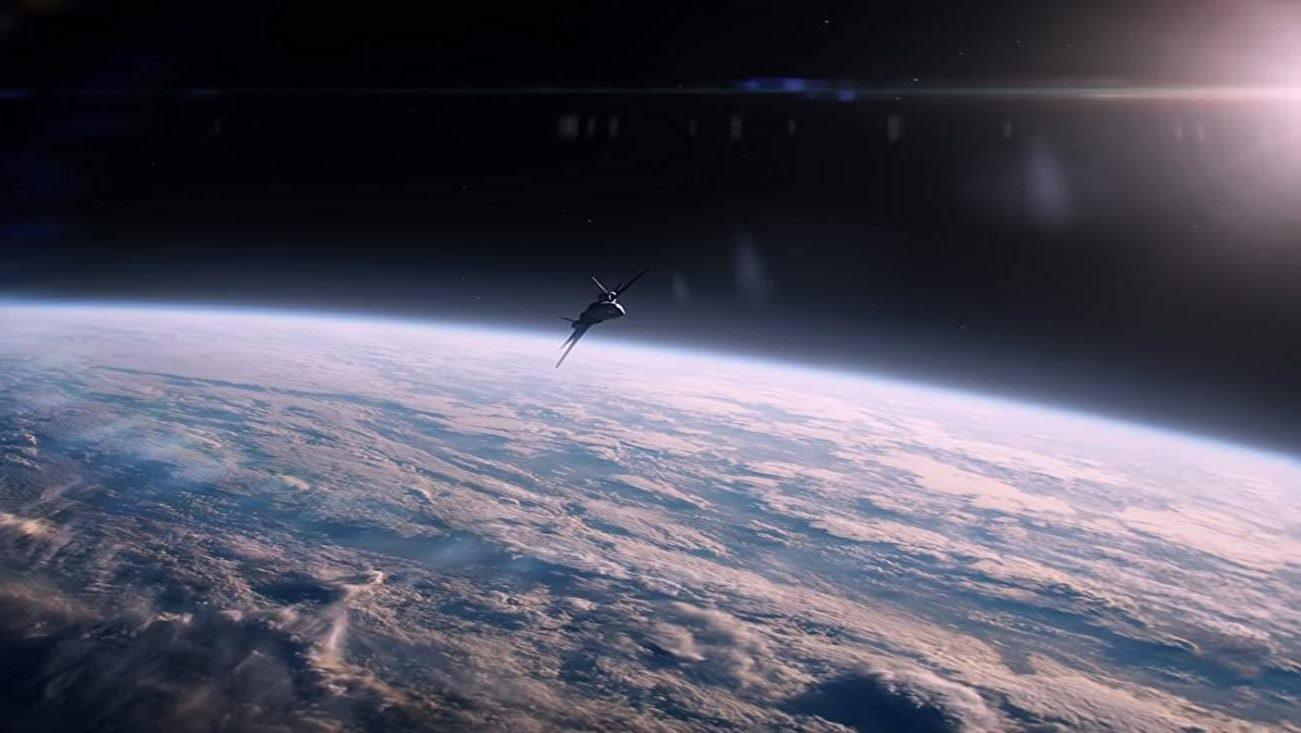 Cảnh quay trong không gian - Phượng hoàng bóng tối