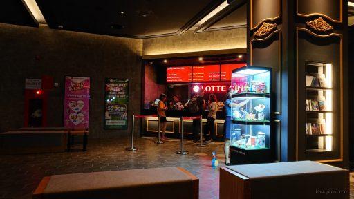 Quầy bán vé tại Lotte Cinema Ung Văn Khiêm
