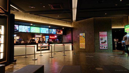 Quầy bán đồ ăn tại Lotte Cinema Ung Văn Khiêm
