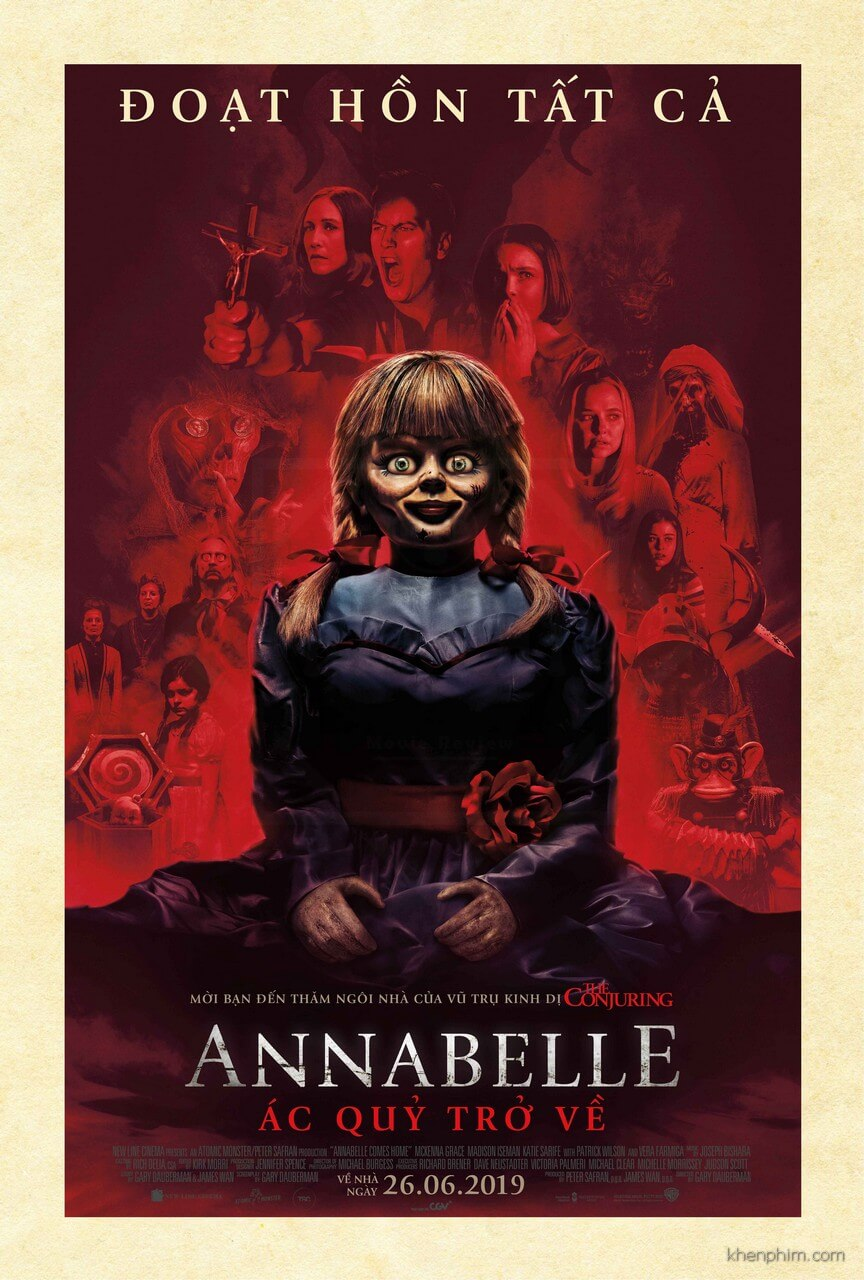 Poster phim Annabelle Comes Home
