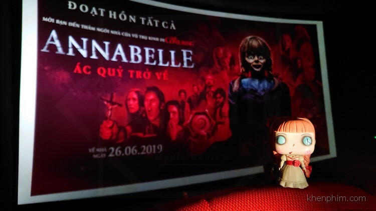 phim Annabelle Comes Home