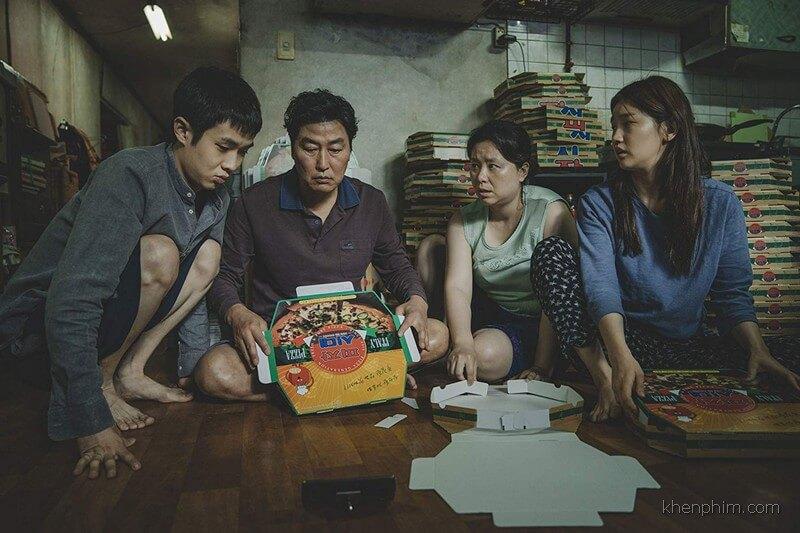 Gia đình khó khăn trong phim Ký Sinh Trùng