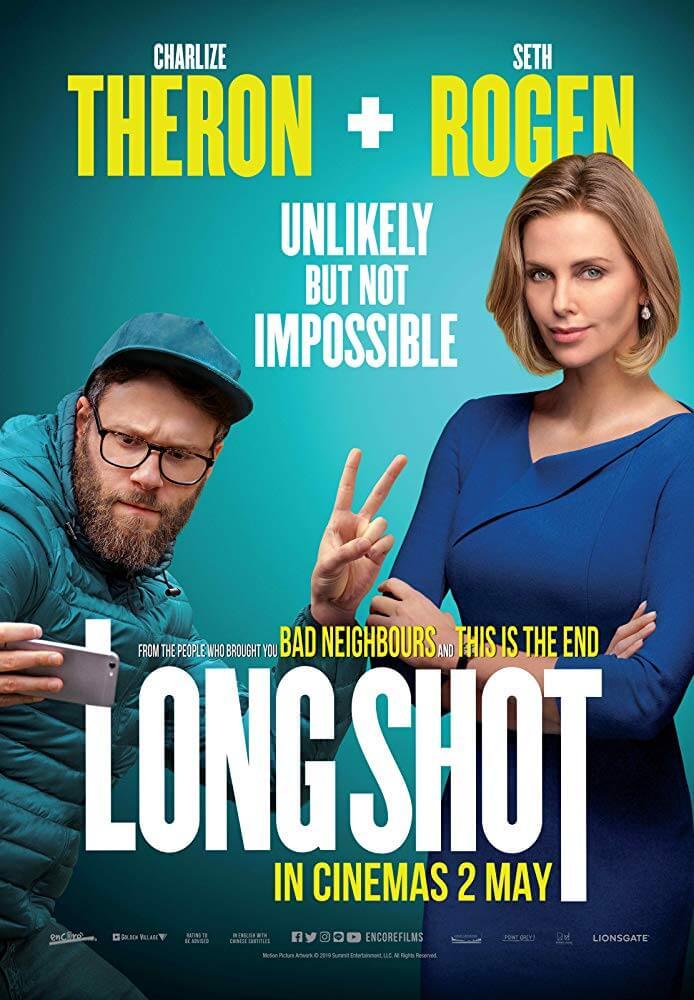 """Poster phim Long Shot (Yêu Nhầm Sếp """"Bự"""")"""