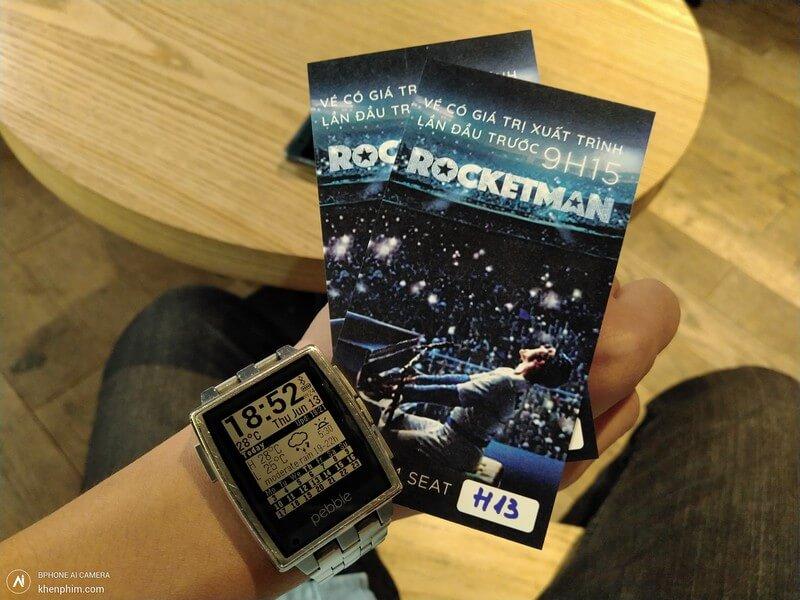 Vé xem phim Rocketman