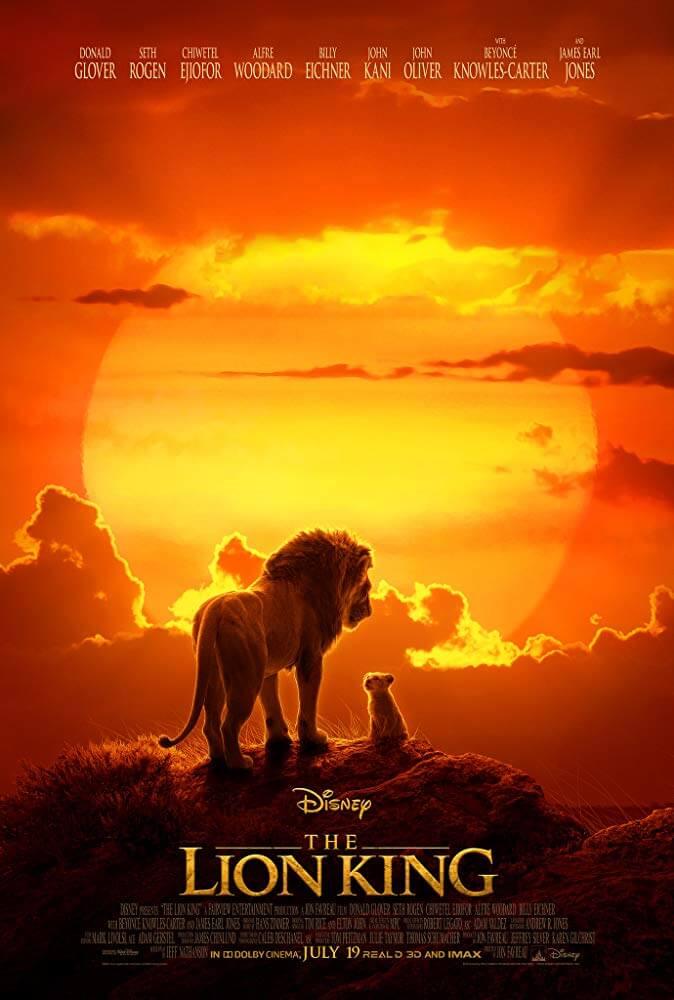 Poster phim Vua Sư Tử (Lion King)