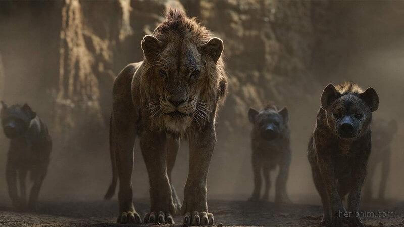 Chú của Simba và bầy linh cẩu - Vua Sư Tử