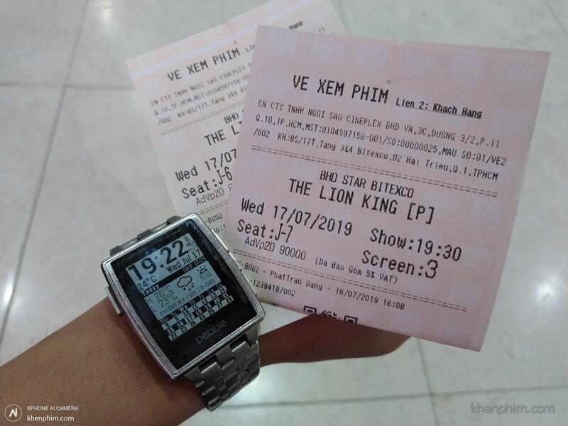 Vé xem phim Vua Sư Tử