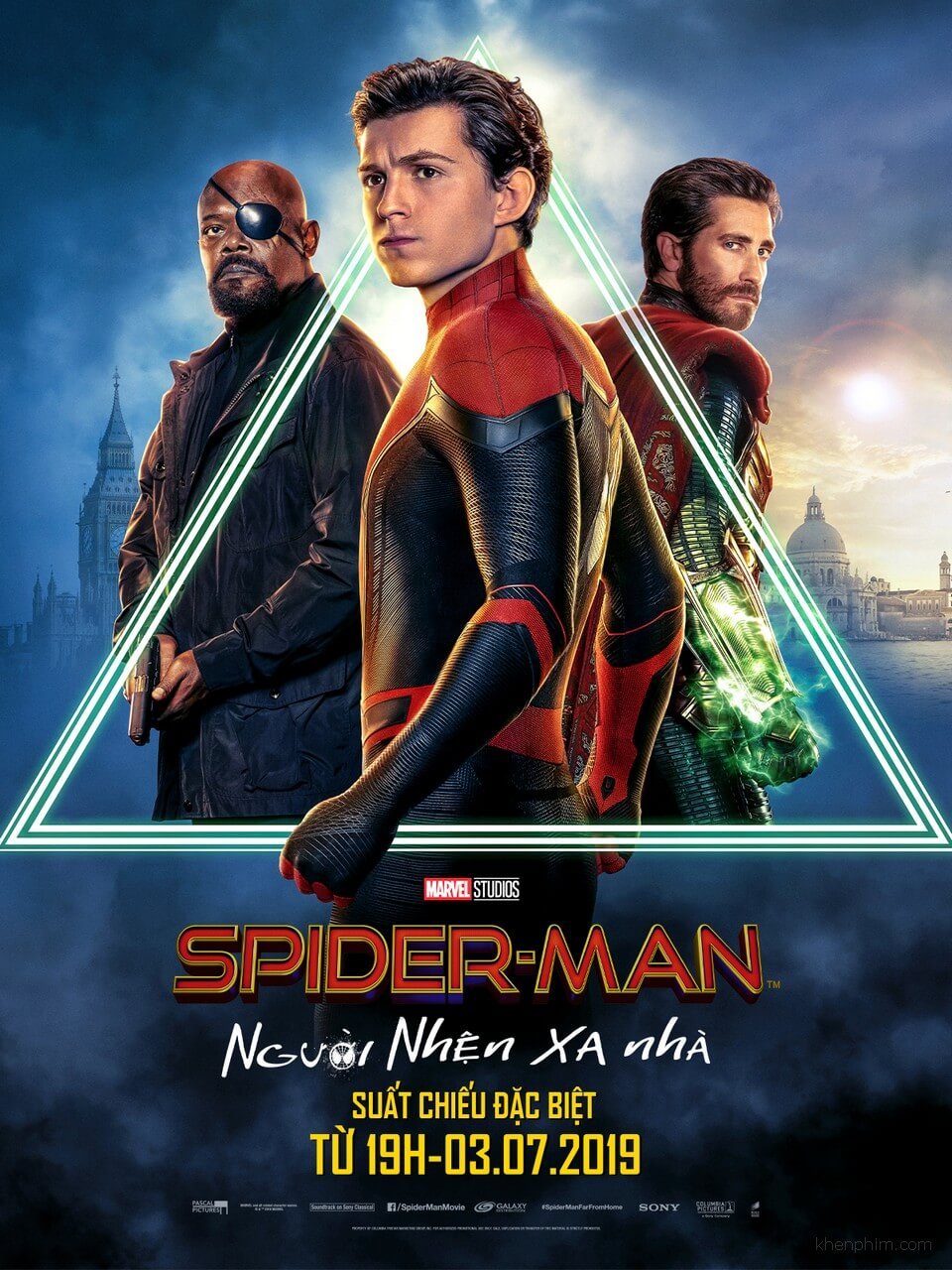 Poster phim Spider-Man Far from Home