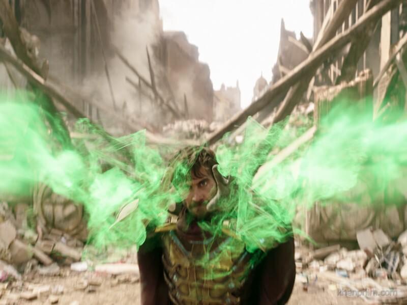 Kỹ xảo là một trong những điểm mạnh của phim Spider-Man
