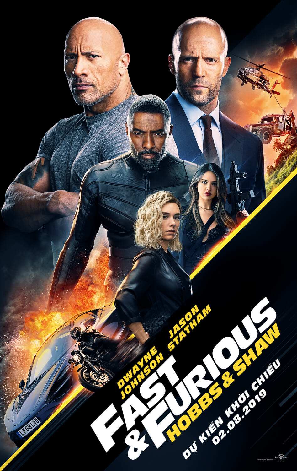 Poster phim Fast & Furious: Hobbs & Shaw