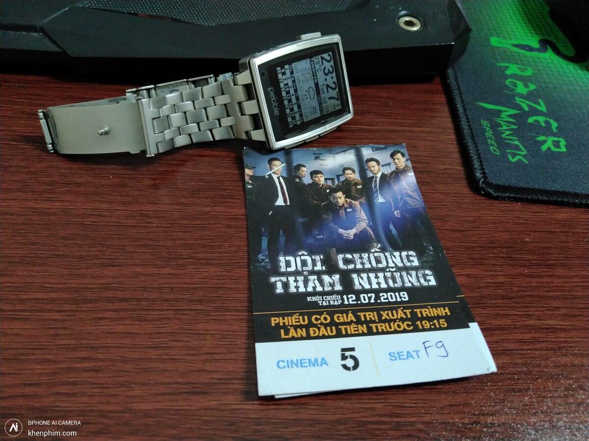 Vé xem phim Đội Chống Tham Nhũng