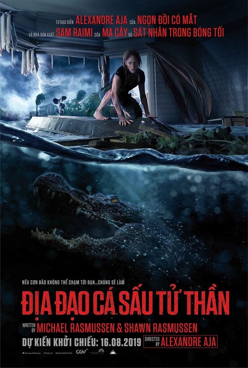 Poster phim Địa Đạo Cá Sấu Tử Thần