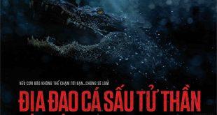 Banner phim Địa Đạo Cá Sấu Tử Thần