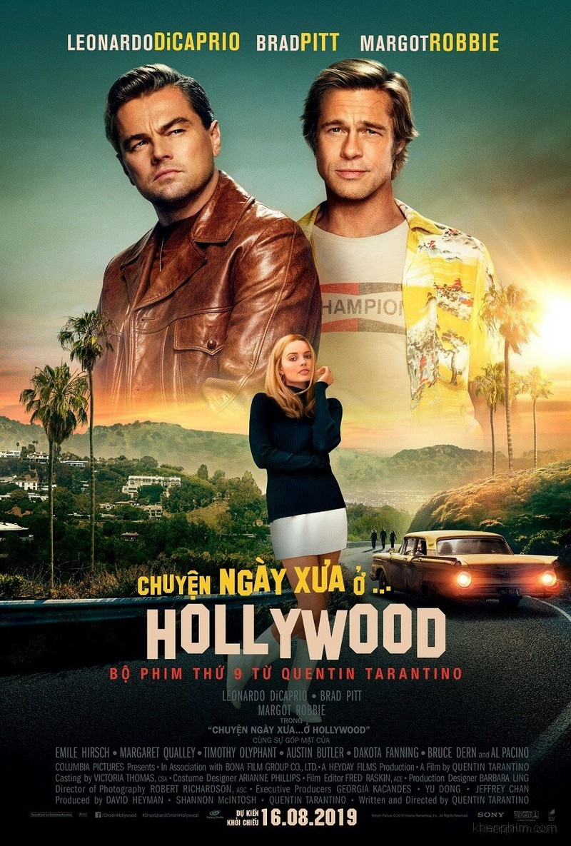 Poster phim Once Upon a Time ... in Hollywood