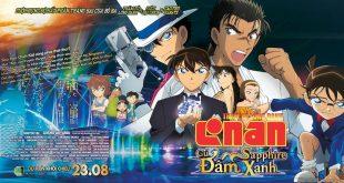 Thám Tử Lừng Danh Conan: Cú Đấm Shapphire Xanh - banner