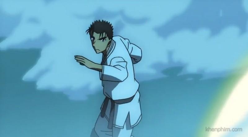 và cao thủ Karate mạnh nhất thế giới với liên tiếp 400 trận bất bại Kyogoku Makoto.