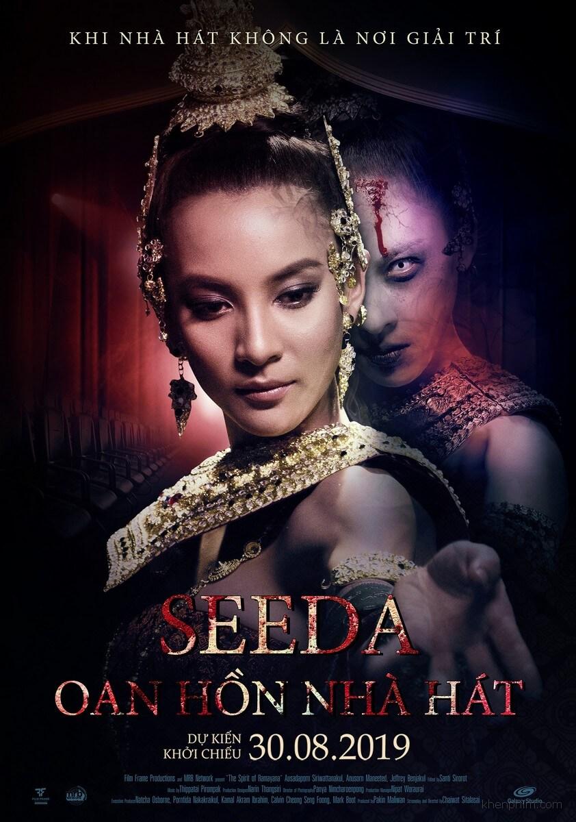 Poster phim Seeda: Oan Hồn Nhà Hát
