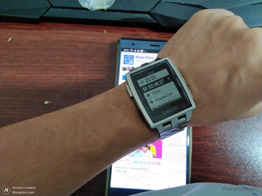 Kết quả bấm giờ đo thời lượng của Khen Phim