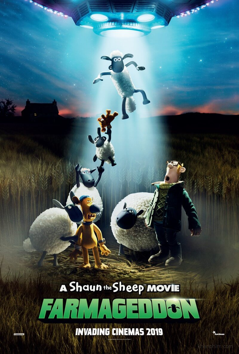 Poster phim A Shaun the Sheep Movie: Farmageddon