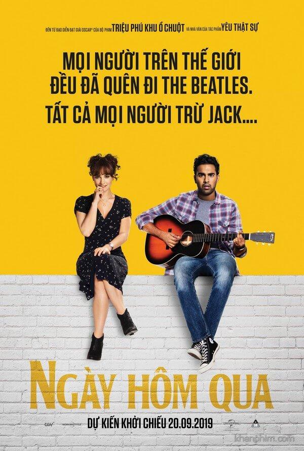 Poster phim Ngày Hôm Qua