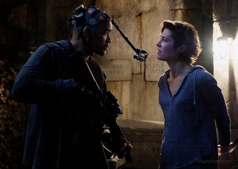 Công nghệ motion capture đã được dùng để tạo ra bản sao của diễn viên Will Smith