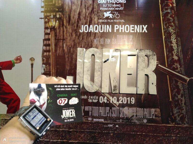 Vé xem phim Joker