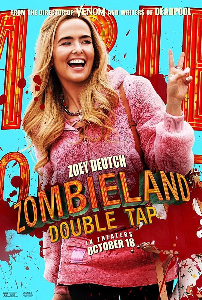 Cô nàng tưng tửng là nguồn gây cười cho phim Zombieland 2