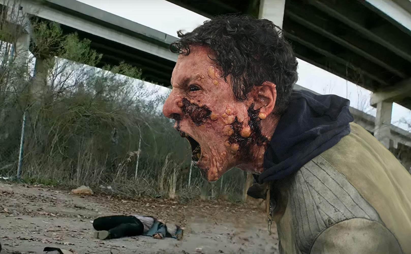 Tạo hình zombie vừa đủ ghê rợn