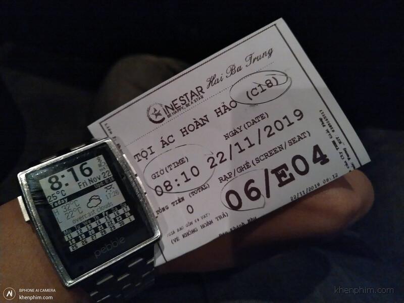 Vé xem phim Tội Ác Hoàn Hảo