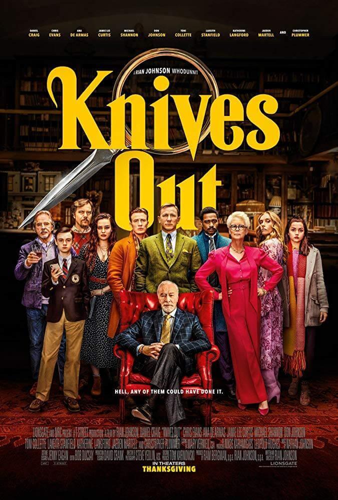 Poster phim Kẻ Đâm Lén (Knives Out)