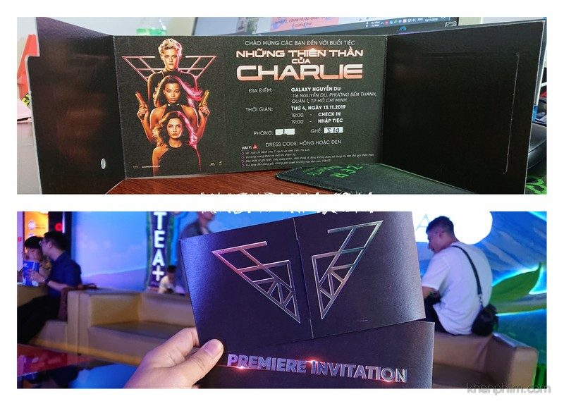 Vé xem phim Những Thiên Thần Của Charlie (Charlie's Angels)