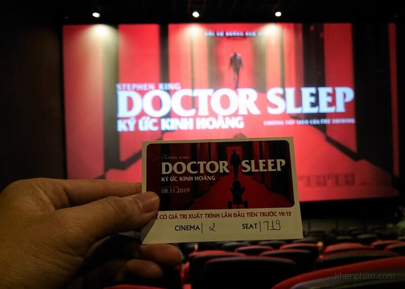 Vé xem phim Doctor Sleep