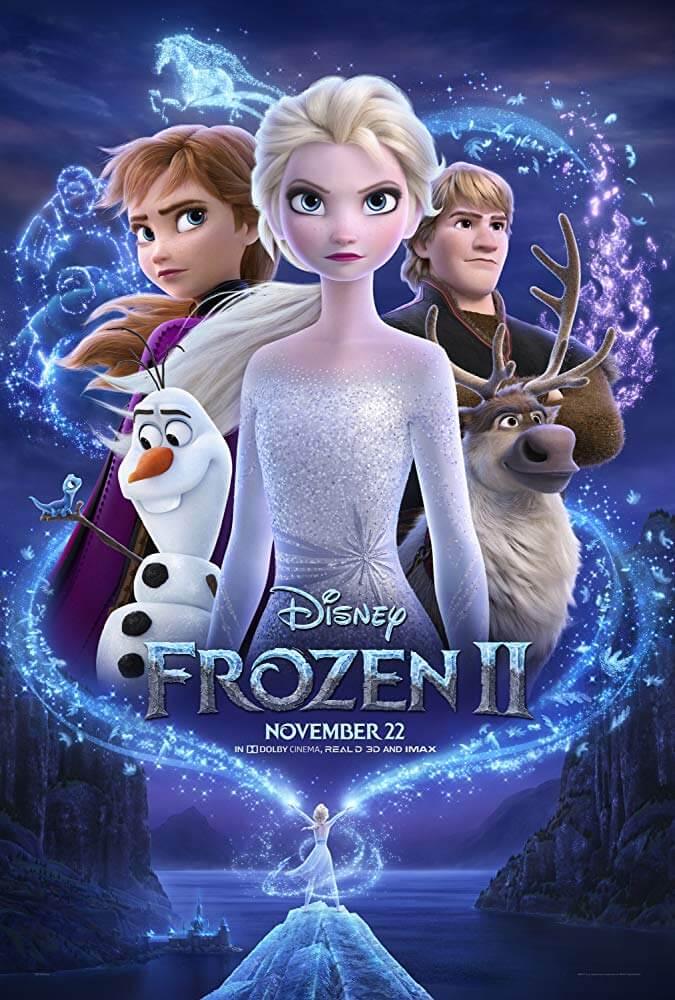 Poster phim Frozen II - Nữ hoàng băng giá 2
